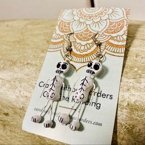 Day of Dead earrings Halloween 🎃 Caroline Redding